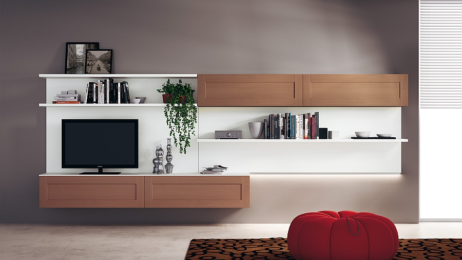 Modular Living Area Kitchen Compositions Versatile Trendy Designs