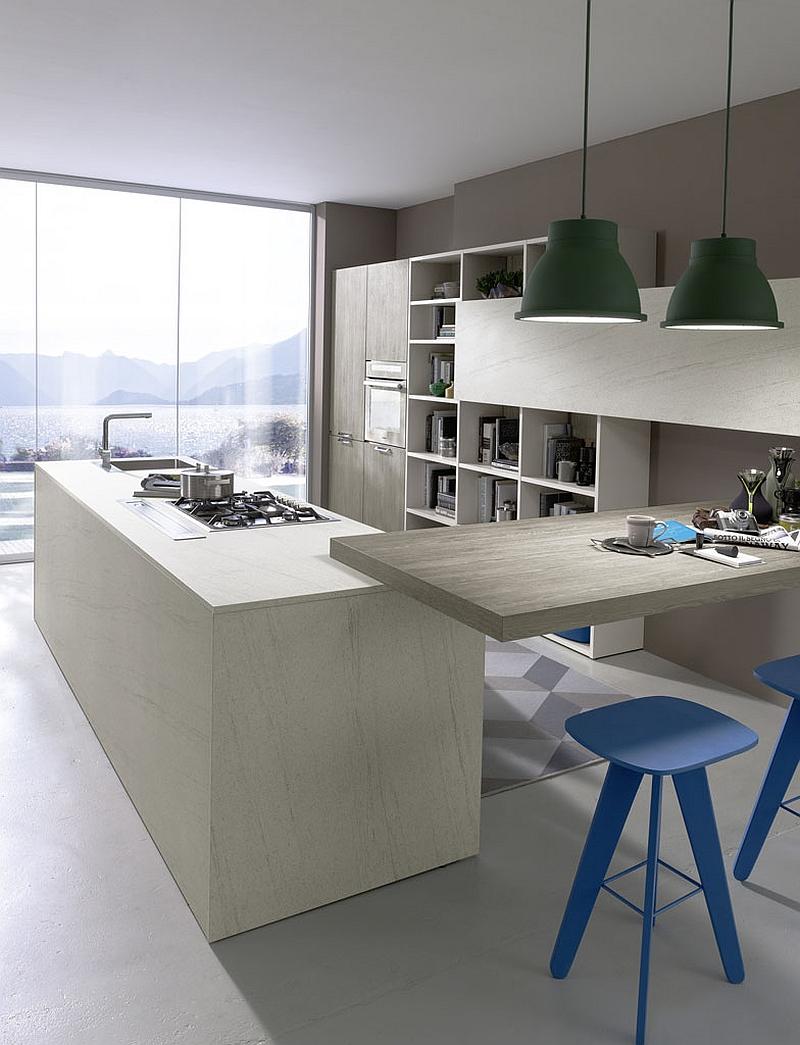 Contemporary Italian Kitchen Space Saving Versatile
