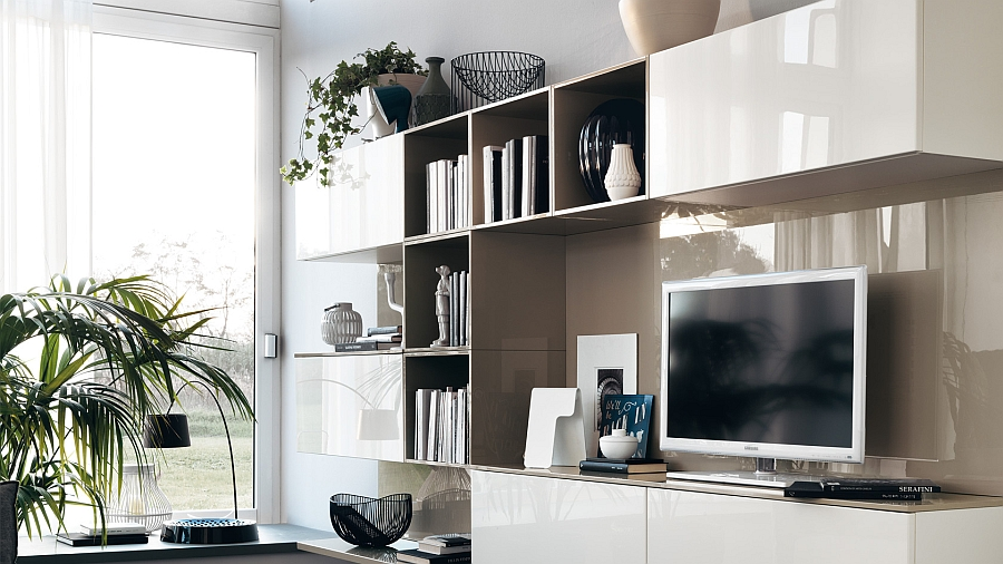 Modular Living Area, Kitchen Compositions Versatile Trendy ... on Living Room Wall Units id=94921
