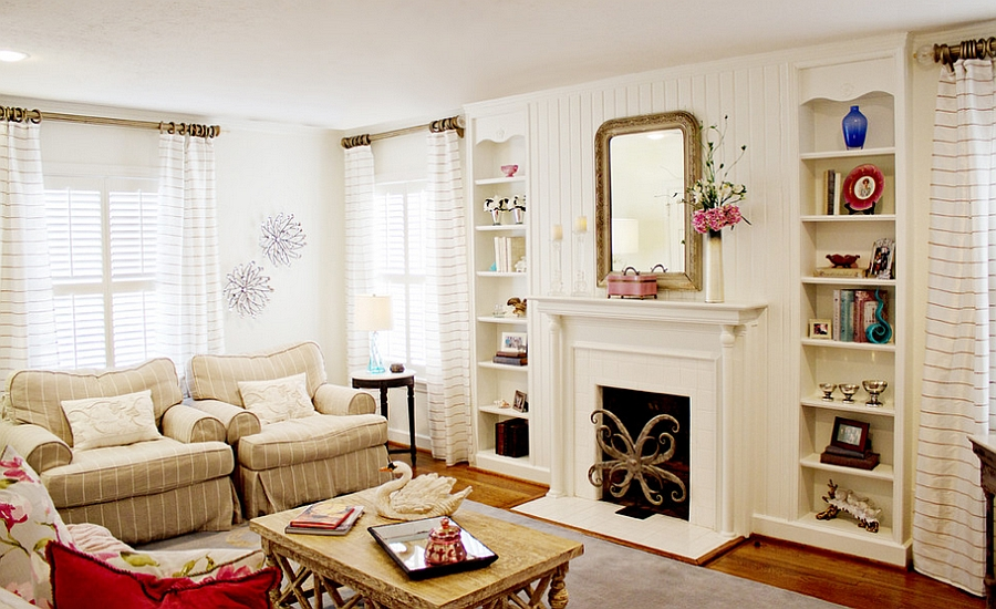 Feminine Living Rooms Ideas, Decor, Design Trends