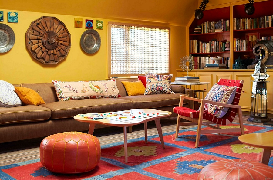 How To Design A Trendy, Fun Family Room on Fun Living Room Ideas  id=11952