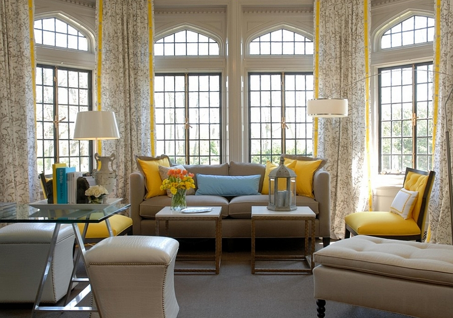 Blue And Yellow Living Room Ideas Centerfieldbar Com