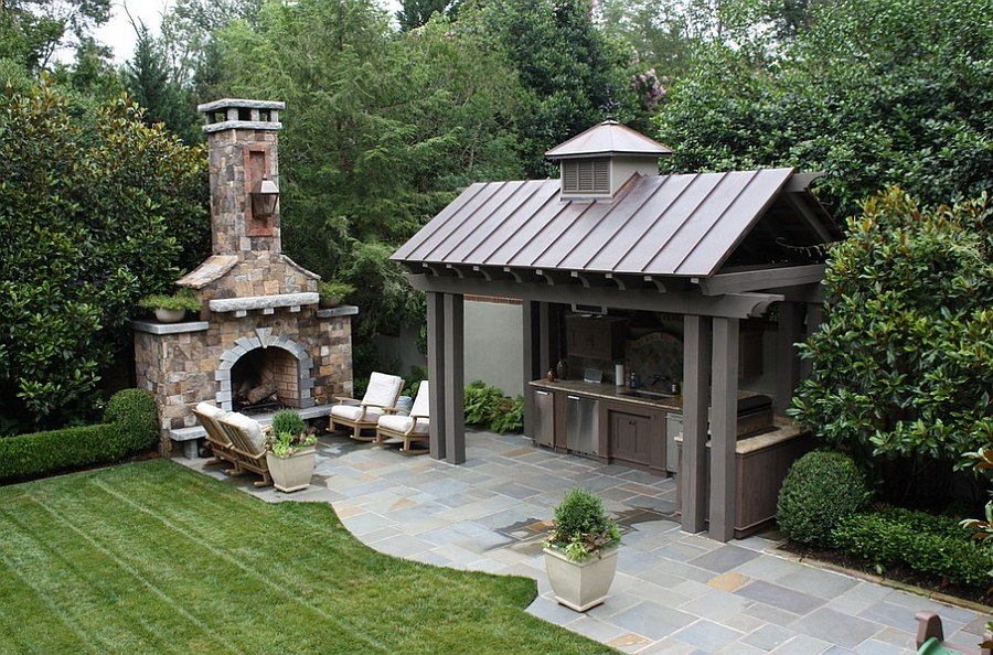 Designing the Perfect Outdoor Kitchen on Patio Kitchen  id=67139
