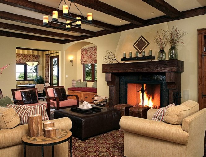 Rustic Living Room Images