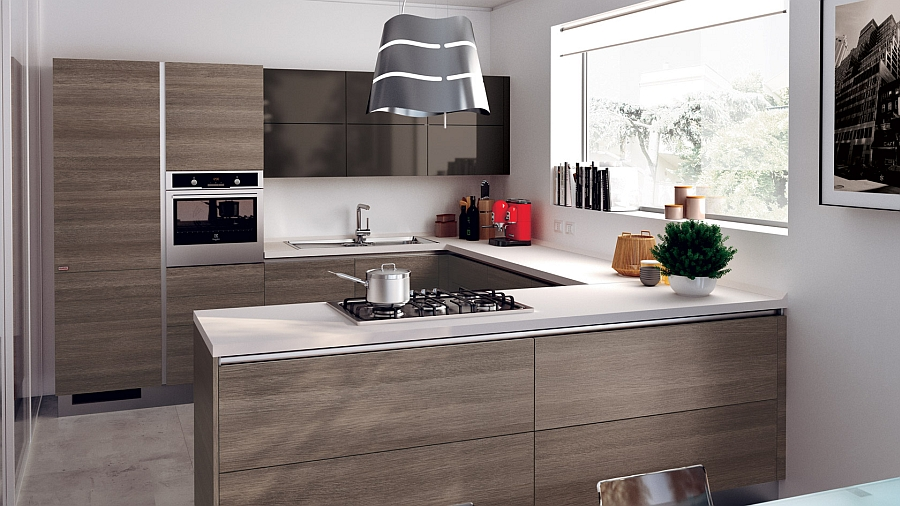 12 Exquisite Small Kitchen Designs With Italian Style on Modern Kitchens  id=40083