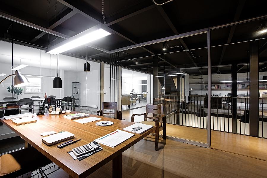 Minimalist Style Office Interior Design Renderings Industrial Style  Minimalist Style Office Interior Design Renderings Industrial Style Office  Design ...
