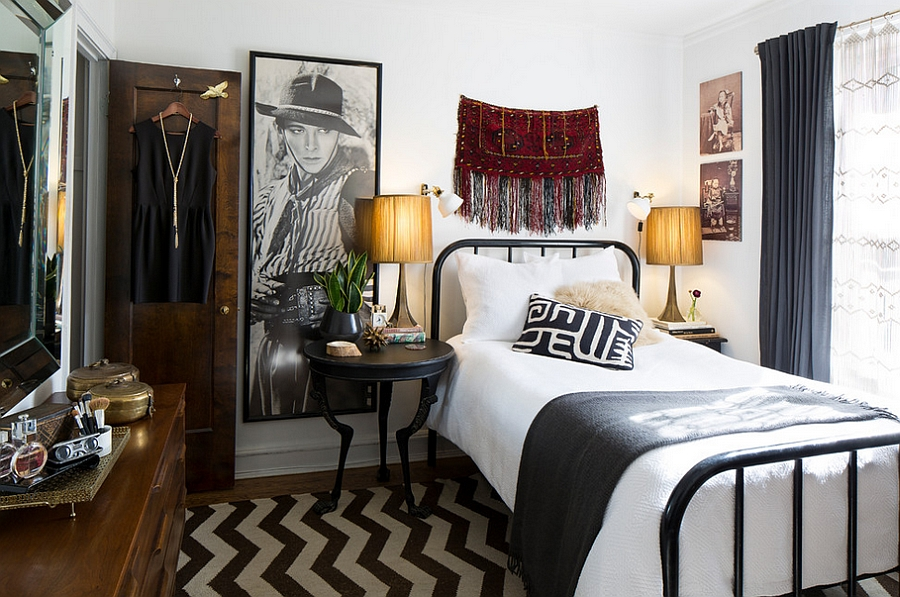 How to Decorate an Exquisite Eclectic Bedroom on Room Decore  id=53694