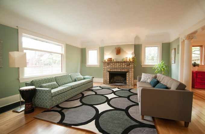 Pale Green Living Room Decor | Thecreativescientist.com