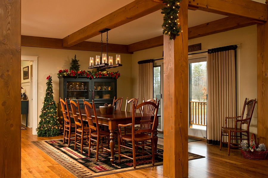 21 Christmas Dining Room Decorating Ideas With Festive Flair