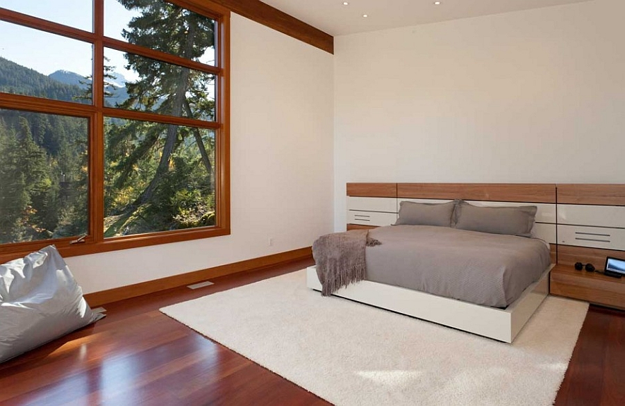 Sweeping Mountain Amp Lake Views Modern Chalet Architecture