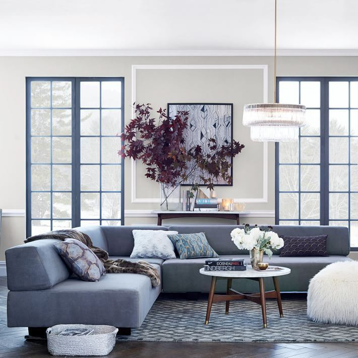 10 Rooms Featuring Modern Sectional Sofas