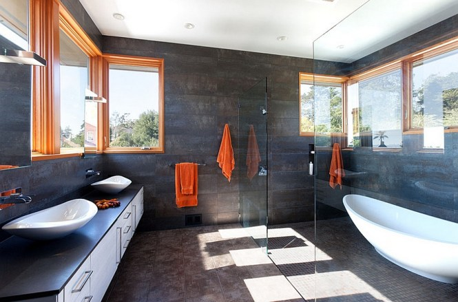 dark gray bathroom accessories : Brightpulse.us