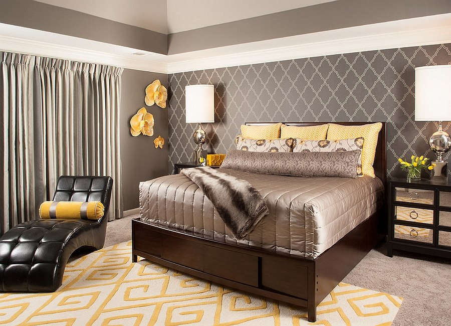 On Style Today 2020 09 19 Cool Yellow Gray Bedroom Decorating Ideas Here