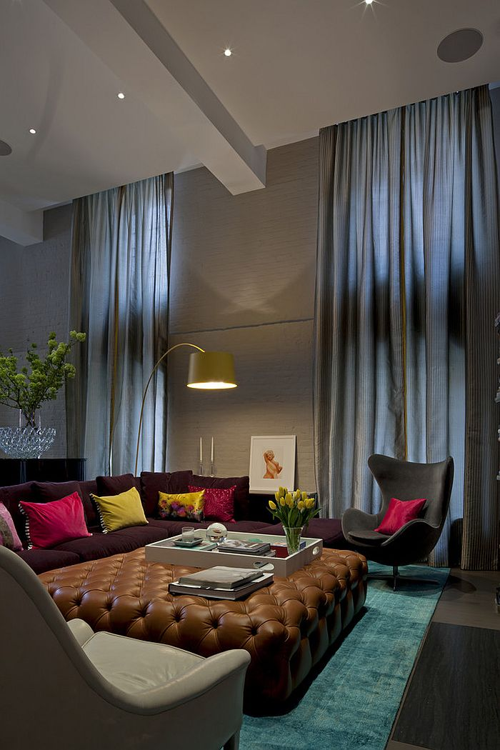 Sizing It Down: How to Decorate a Home with High Ceilings on Picture Room Decor  id=98008