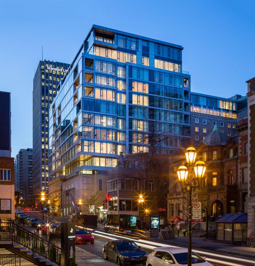 The Residences At Ritz Carlton Montreal Where Heritage