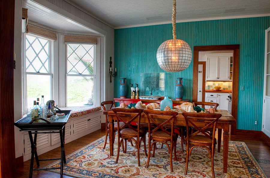 title | Dining room accent walls