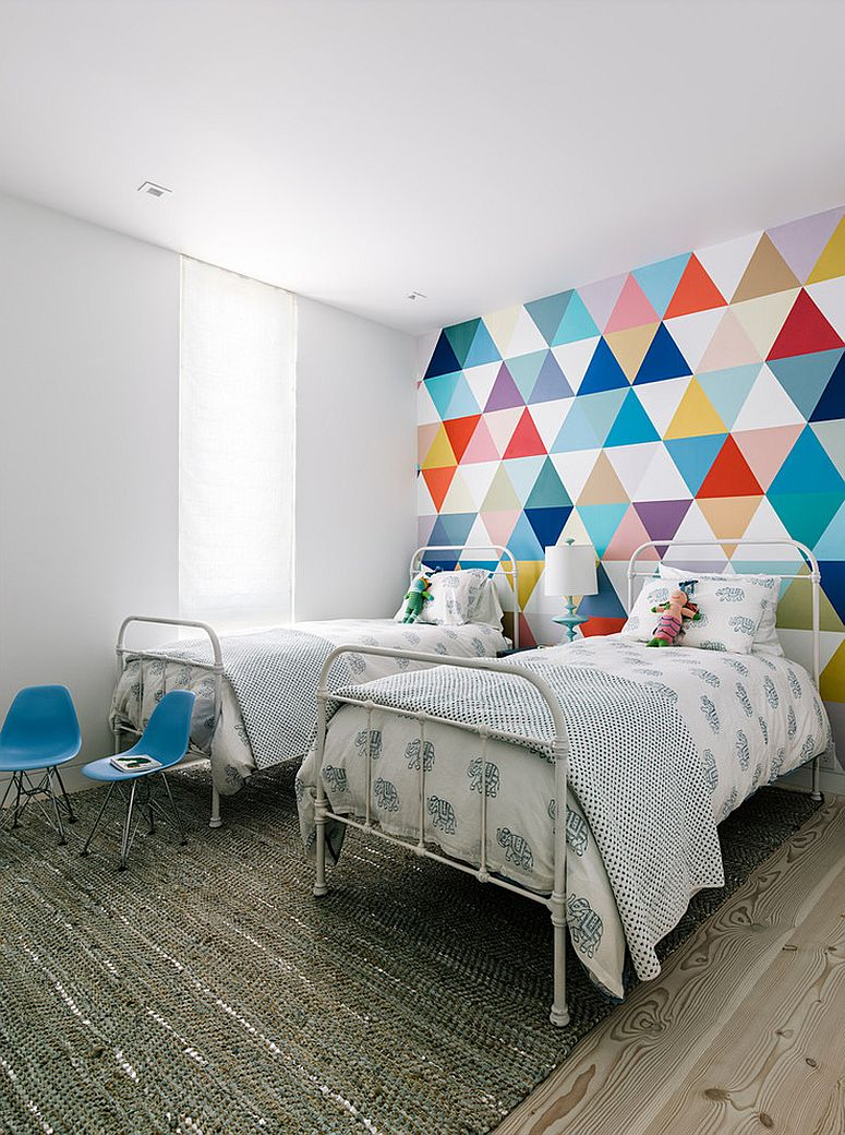 21 Creative Accent Wall Ideas for Trendy Kids' Bedrooms on Cool Bedroom  id=66128