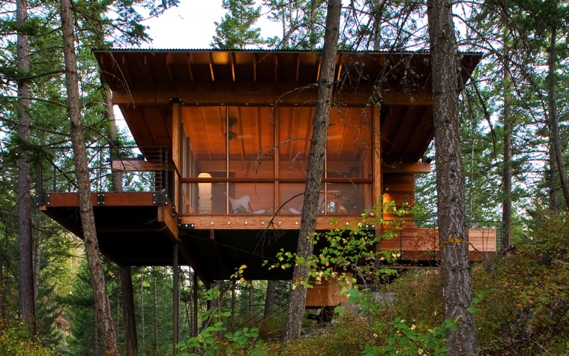 High Design Off Grid Cabins Escape From It All In Style