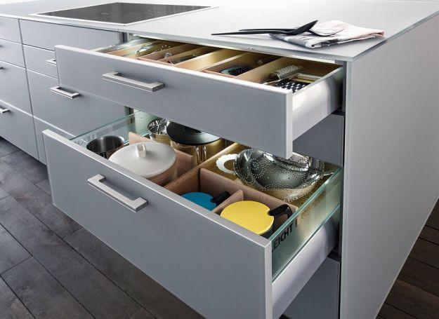 modern space-saving kitchen storage and shelving ideas