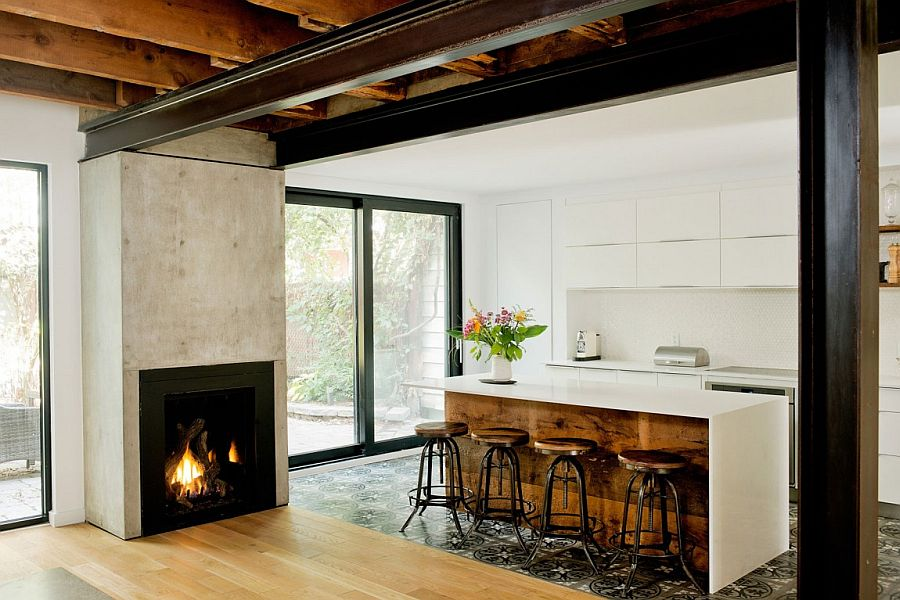 Rustic Chic Cottage De Brbeuf In Quebec By Boom Town