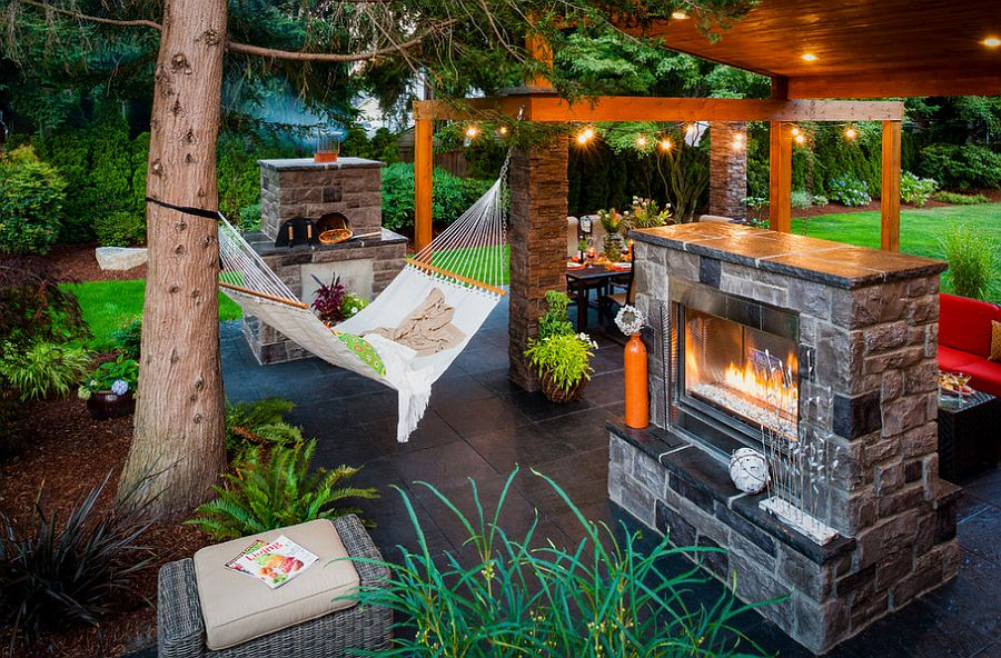 Summer Spirit: 25 Cool Outdoor Hangouts with a Hammock! on Complete Outdoor Living id=22281
