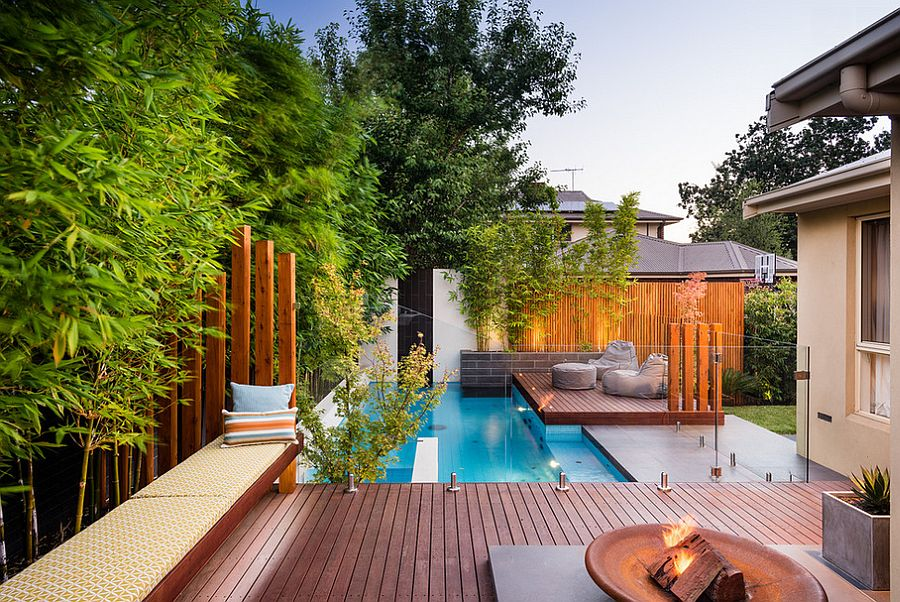 23+ Small Pool Ideas to Turn Backyards into Relaxing Retreats on Modern Landscaping Ideas For Small Backyards  id=15817