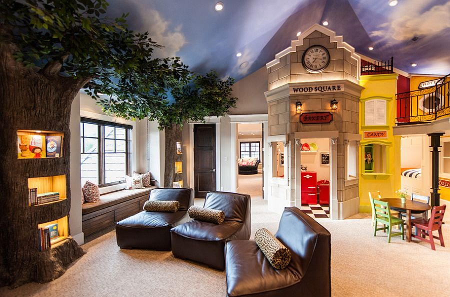 20 Awesome Kids' Bedroom Ceilings that Innovate and Inspire on Amazing Bedroom  id=53328