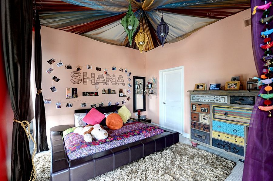20 Awesome Kids' Bedroom Ceilings that Innovate and Inspire on Teenager Style Teenage Room  id=23428