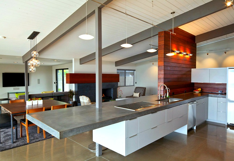 14 Concrete Countertops That Prove This Material Suits Any ... on Kitchen Counter Decor Modern  id=93165