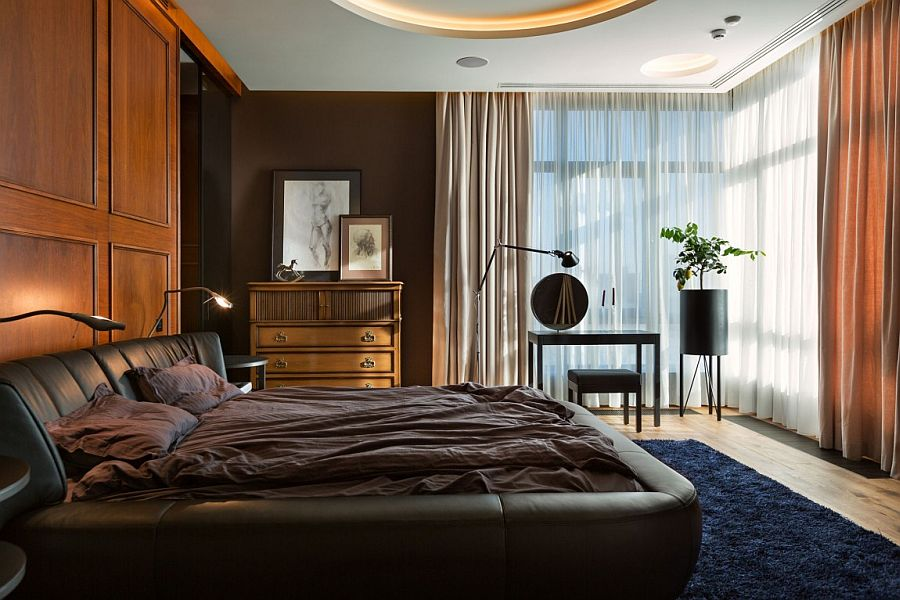 Embracing Bold Art Amp Edgy Design Dazzling Apartment In Kiev