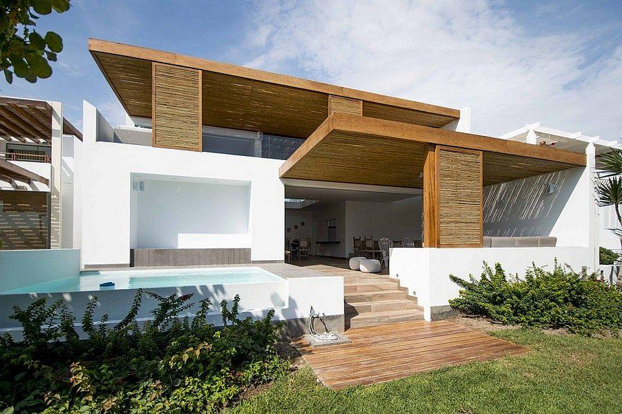Contemporary Beach House In Peru By DA LAB Arquitectos