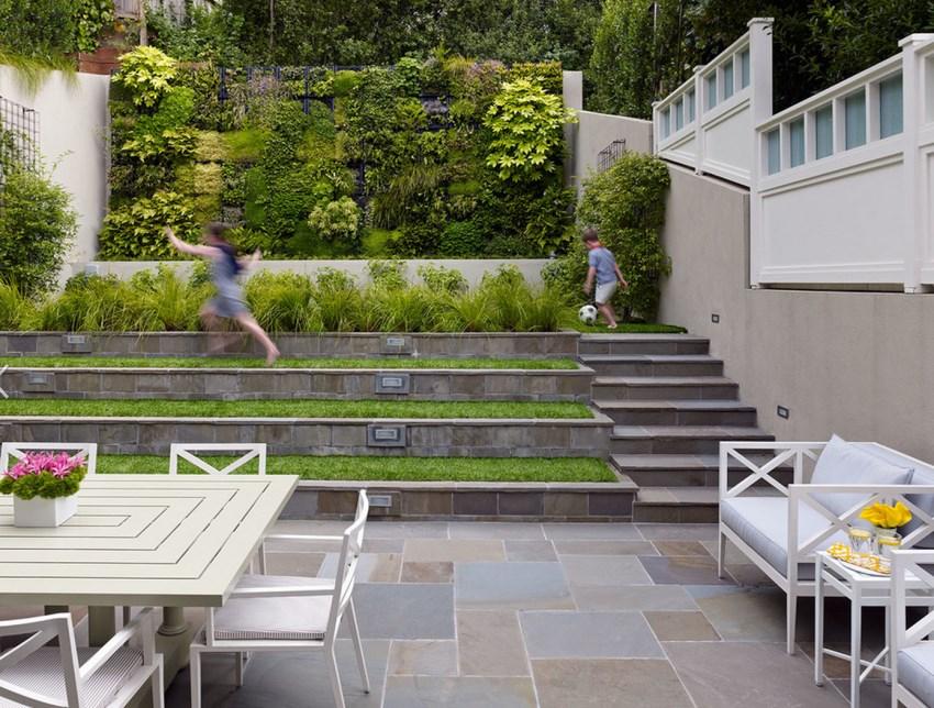 Backyard Landscaping Ideas Made Easy on Terraced Yard Landscape Ideas id=94911