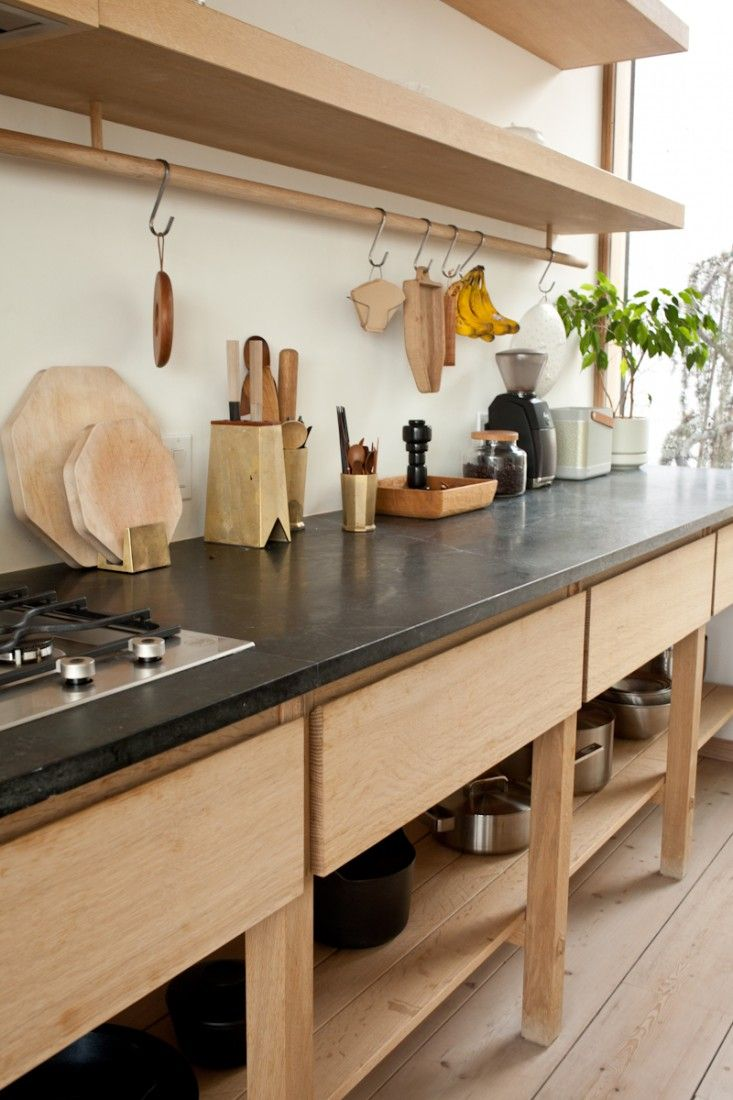 Storage-Friendly Accessory Trends for Kitchen Countertops on Modern:0Bjn4Cem9Be= Kitchen Counter  id=98660