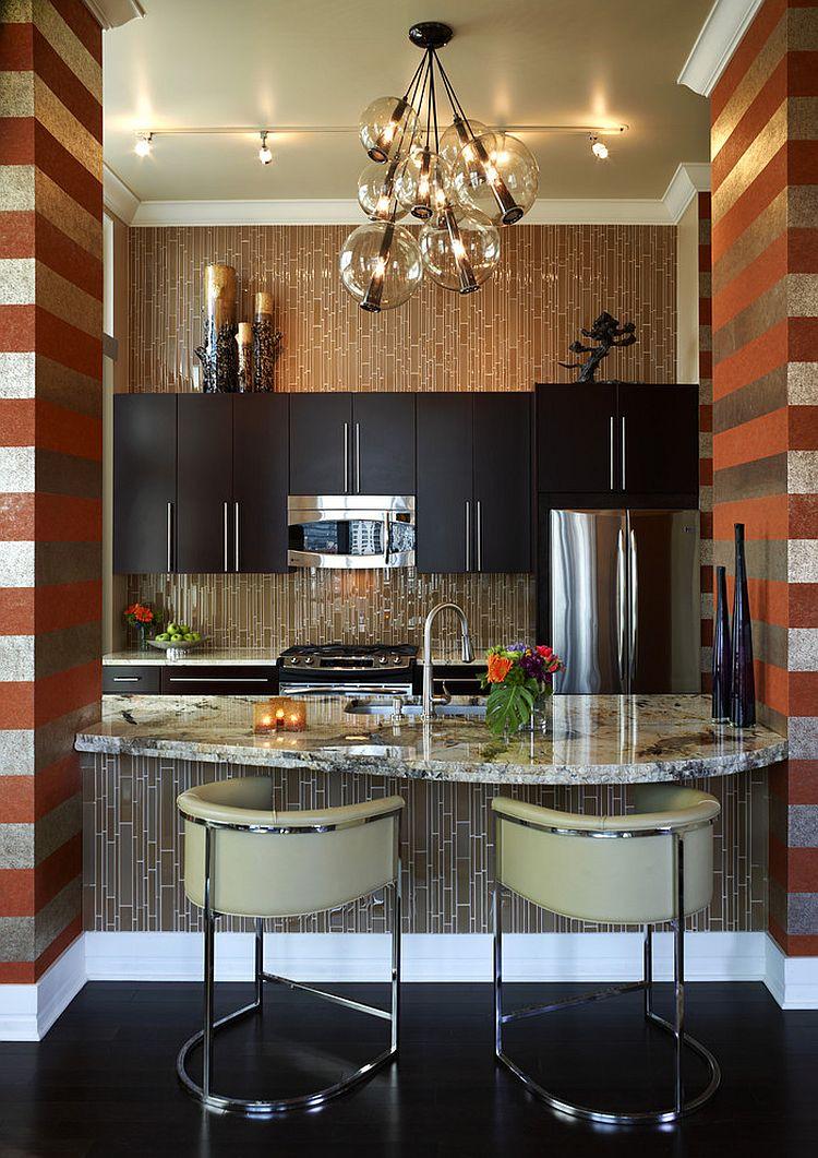 Hot Trend: 20 Tasteful Ways to Add Stripes to Your Kitchen on Kitchen  id=36878