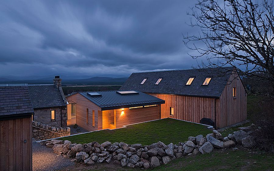 Revitalized Cottage In Stone And Wood Captures The Aura Of