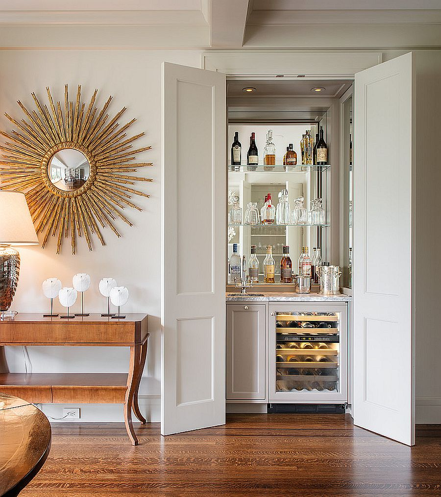 home bar ideas and space savvy designs