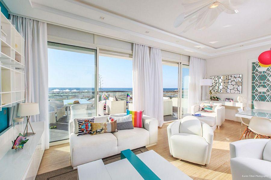 Vivacious Home Overlooking The Atlantic By Kanza Ben Cherif
