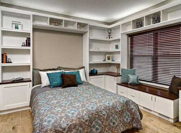 25 versatile home offices that double as gorgeous guest rooms - Modern Home Office Guest Room