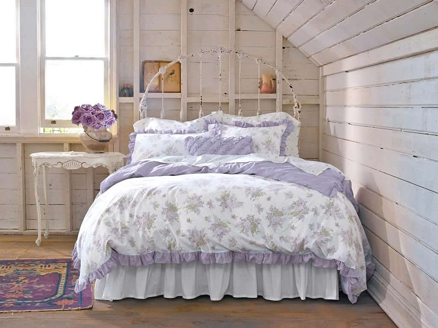 Modern looking shabby chic kids room design. 50 Delightfully Stylish And Soothing Shabby Chic Bedrooms