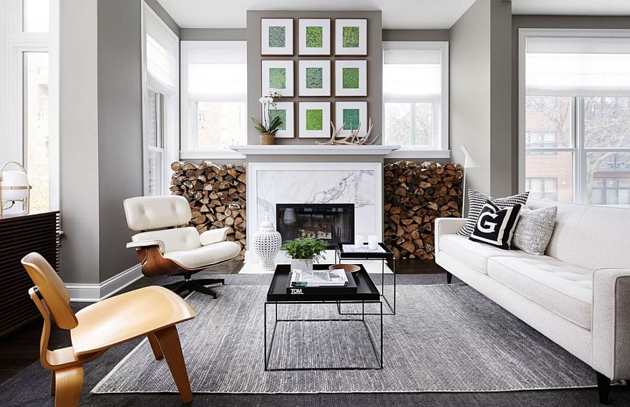 Neutrals That Wow Minimal Chicago Townhouse With Inviting