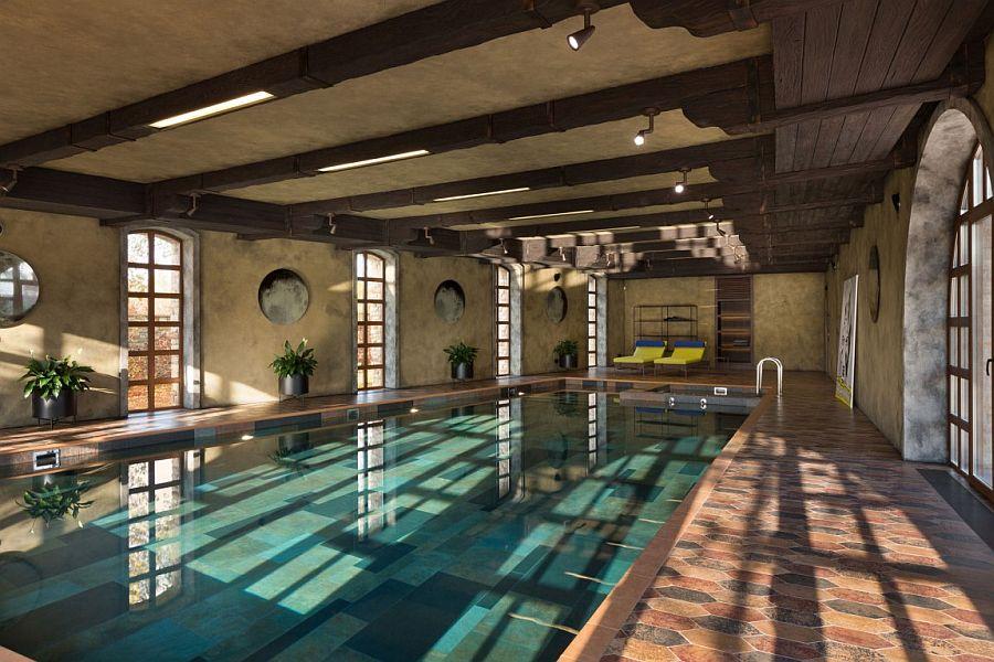 Residence BO Luxurious Kiev Villa Wrapped In Rustic