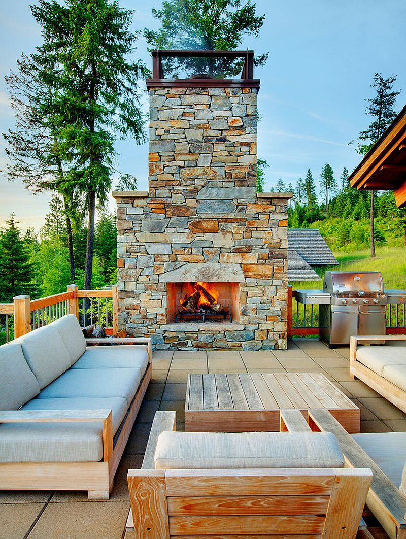 25 Awesome Rustic Decks That Offer a Tranquil Escape on Open Backyard Ideas id=23434