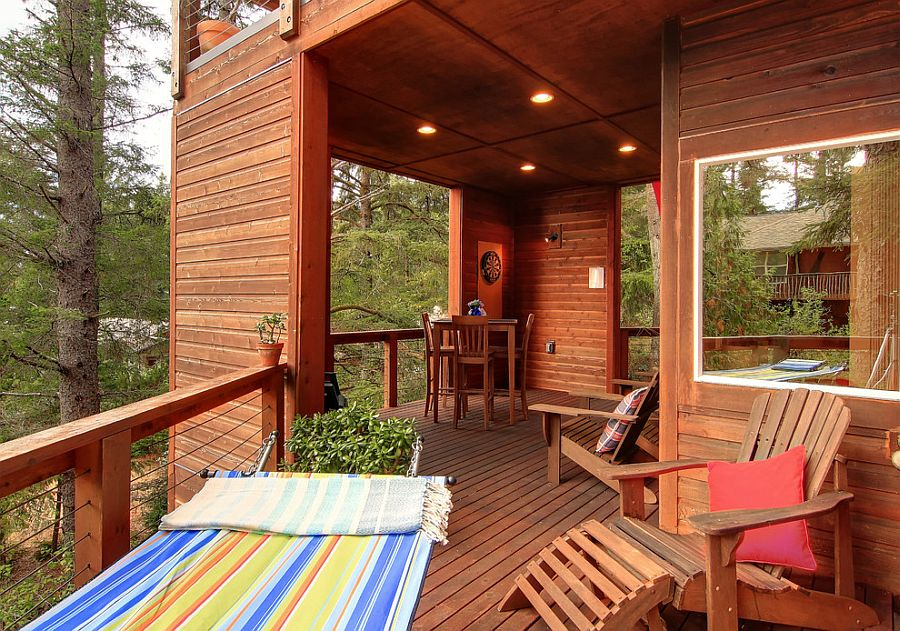 25 Awesome Rustic Decks That Offer a Tranquil Escape on Open Backyard Ideas id=45980