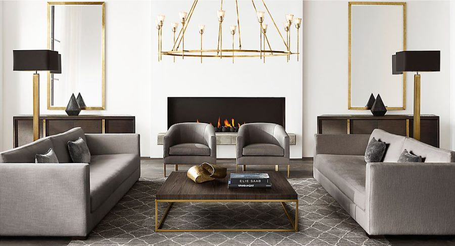 New Brass Furniture and Decor from RH Modern View in gallery Brass furniture and decor from RH Modern