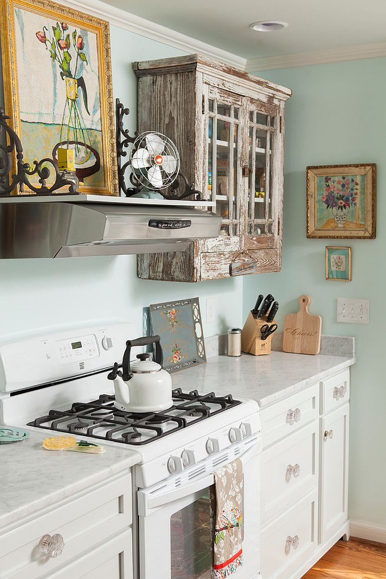 Even shabby chic can provide its own form of simplicity. 50 Fabulous Shabby Chic Kitchens That Bowl You Over