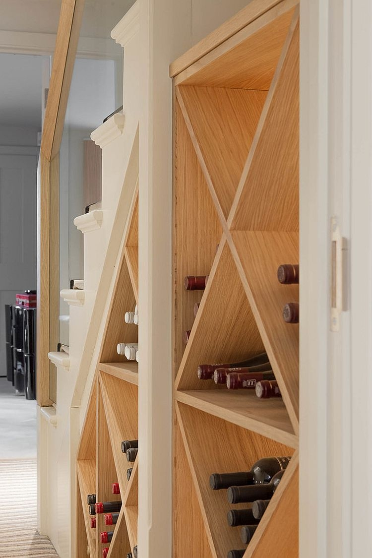 20 Eye Catching Under Stairs Wine Storage Ideas | Unique Stairs For Small Spaces | Mini | Small Area | Ladder | Stairway | Loft