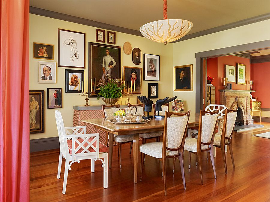 Trendy Color Duo: 20 Dining Rooms That Serve Up Gray And