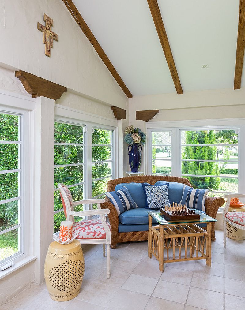 Embracing Warmth 25 Mediterranean Inspired Sunrooms For A