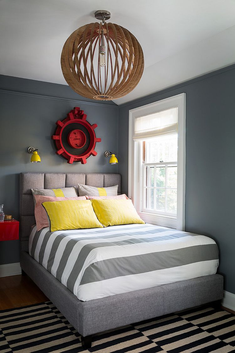 25 Cool Kids' Bedrooms that Charm with Gorgeous Gray on Small Bedroom Ideas For Boys  id=95886