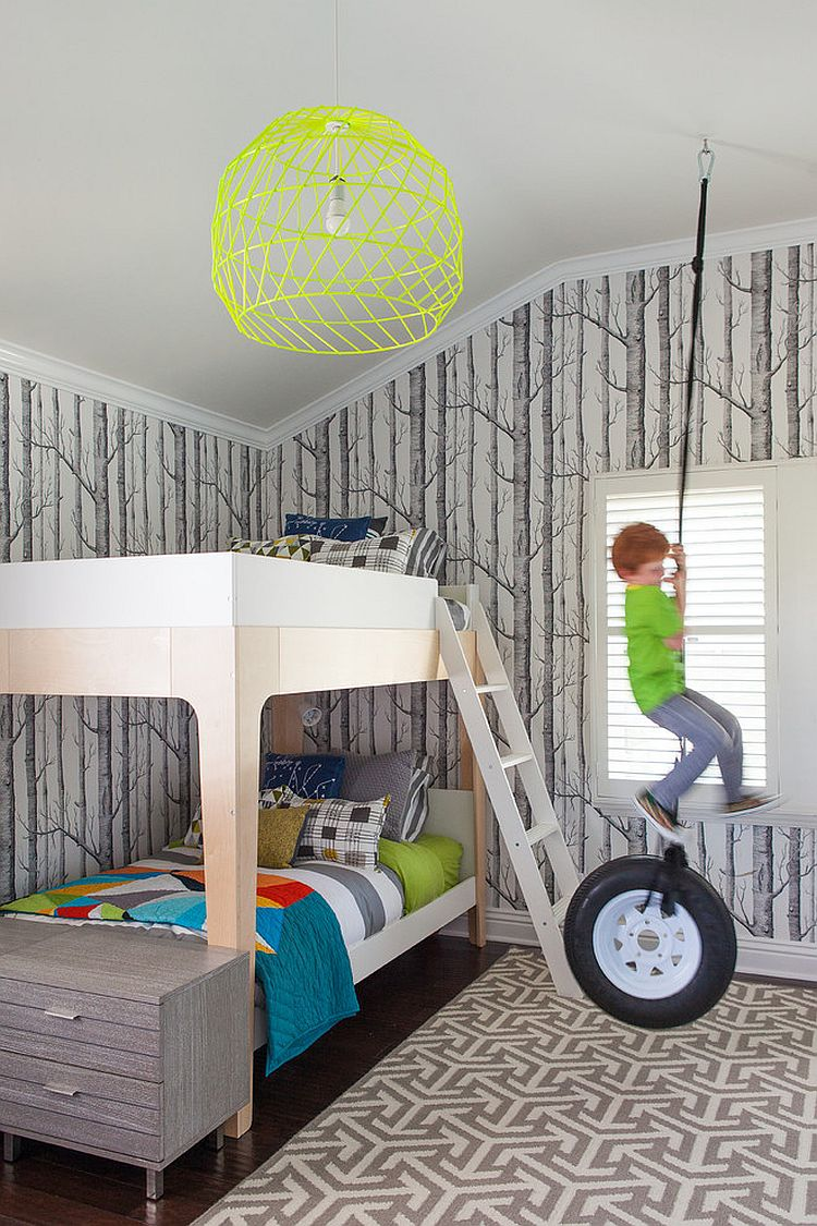 25 Cool Kids' Bedrooms that Charm with Gorgeous Gray on Cool Bedroom  id=28288